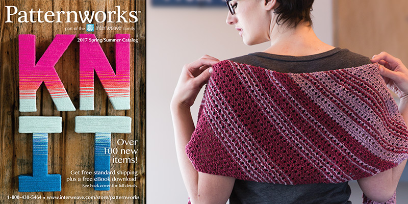 It's here—the Patternworks 2017 Spring/Summer Catalog!