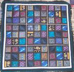 Pat Merrell Sudoku quilt