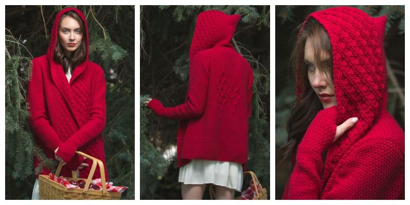 Pattern of the Week: Crimson Hooded Cardigan