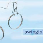 Favorite Project of the Week: Swingin' Hoops Earrings