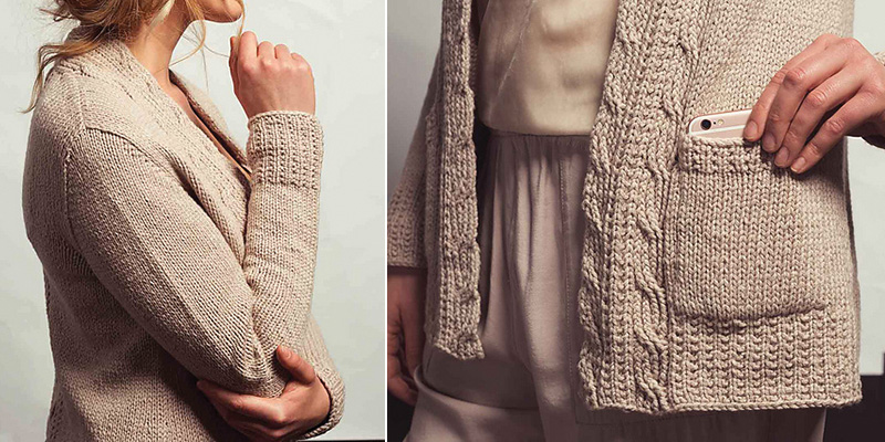 5 Things to Love about the White Smoke Cardigan