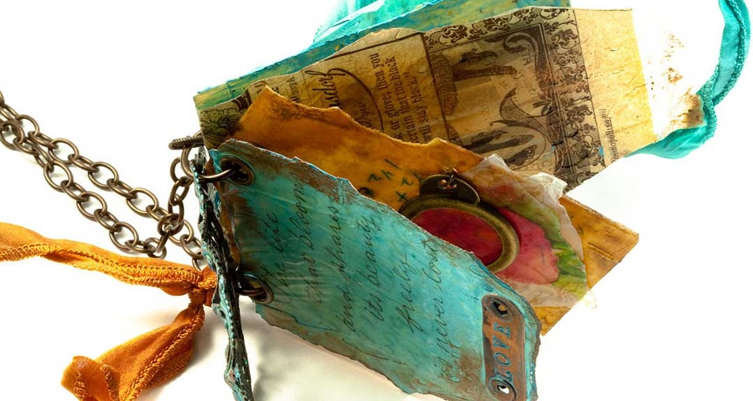 resin jewelry techniques, casting: Resin paper book by Pam Hawkins.