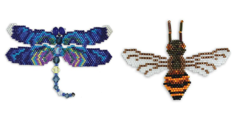 Learn How to Brick Stitch an Easy Beaded Butterfly