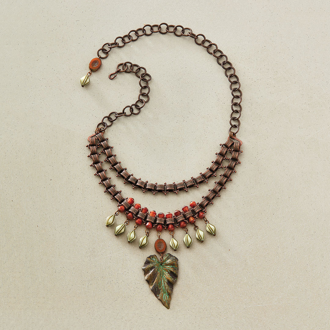 Rainforest Necklace by Anne Perry