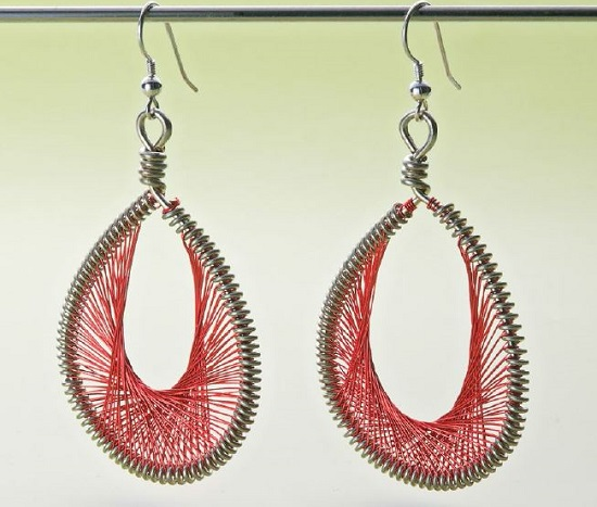 Peruvian-Thread-earrings-AmandaSheroGranstrom