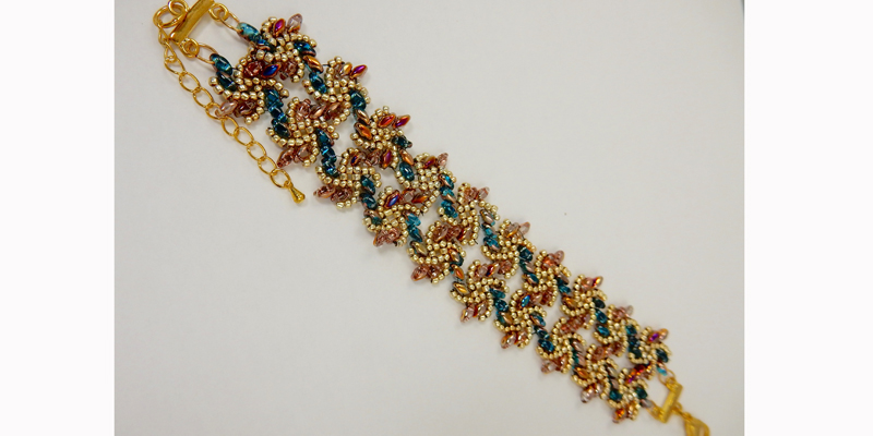 W.O.R.D.: Linda Peterson's Version of Kassie Shaw's Vortices Bracelet