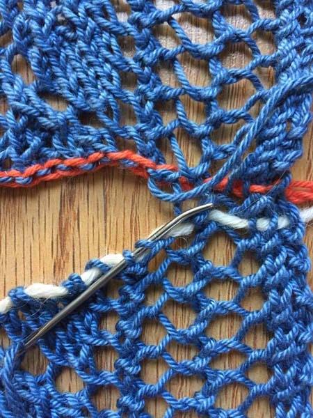 grafting lace edgings