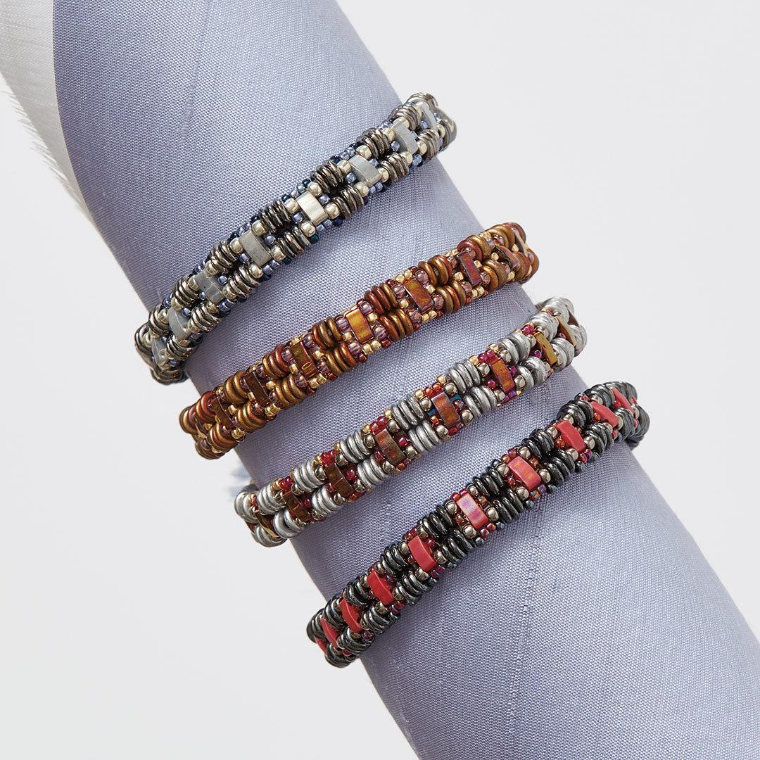 shaped beads: Monika Pienkowska's O La La Bracelet