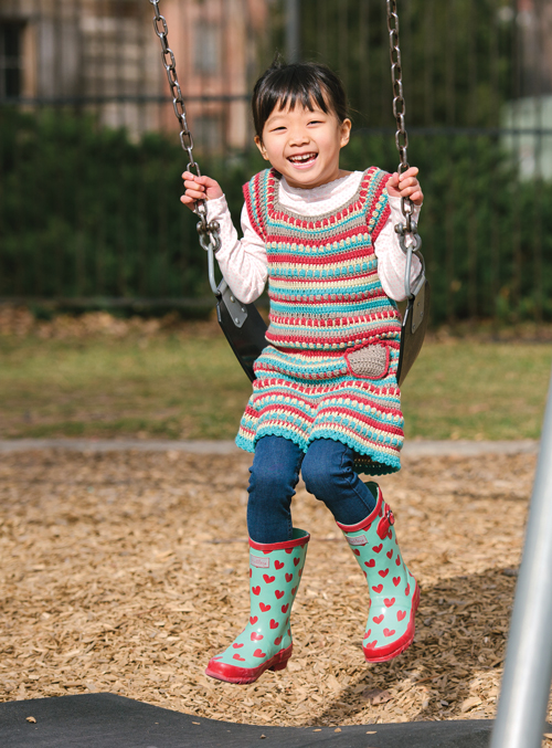 Play Day Dress Crochet Pattern