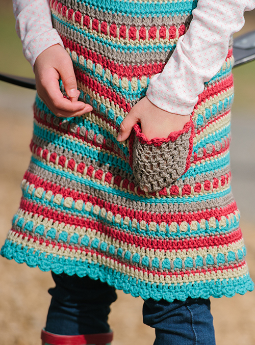 Pocket on the Play Day Crochet Dress