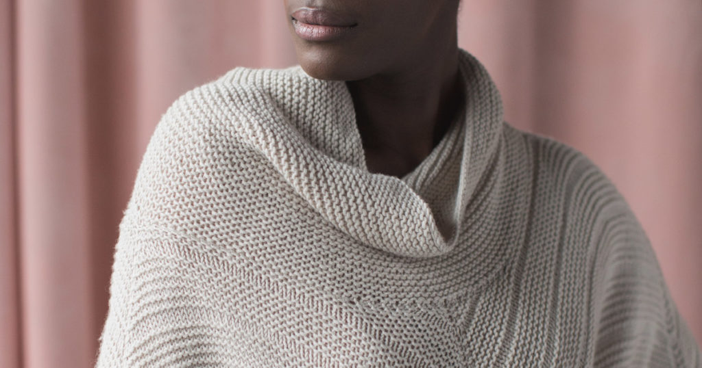 <em>knit.wear</em> Fall/Winter 2018: Point Gray Poncho
