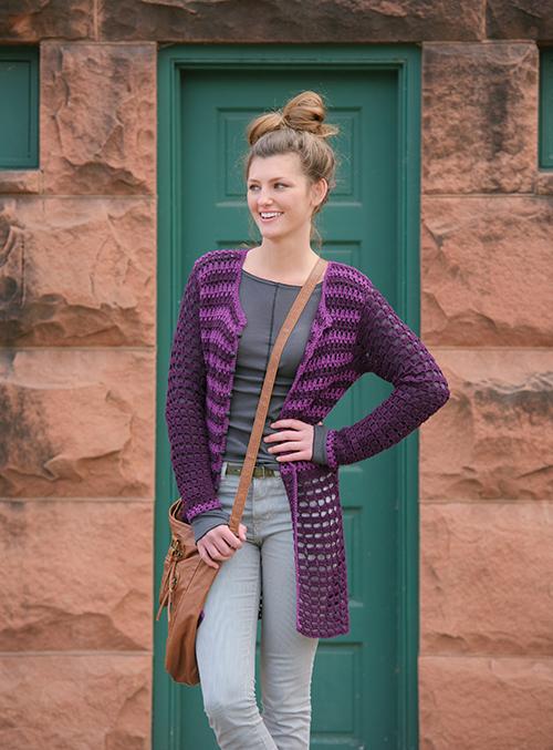 Prince Cardigan Crochet Sweater