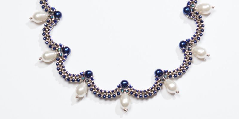 Bead Weaving: Be Queen for a Day with Cristie Prince's Beaded Jewelry