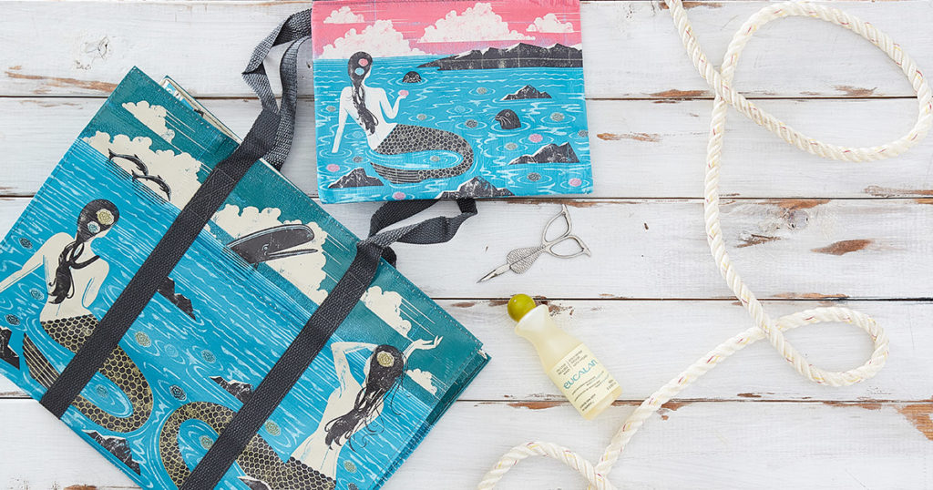 Mermaid-Inspired Crochet Products for Spring