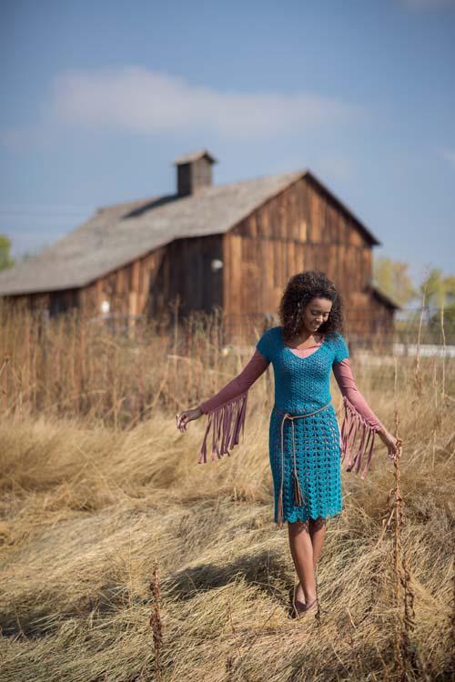 Provence Dress Crochet Pattern