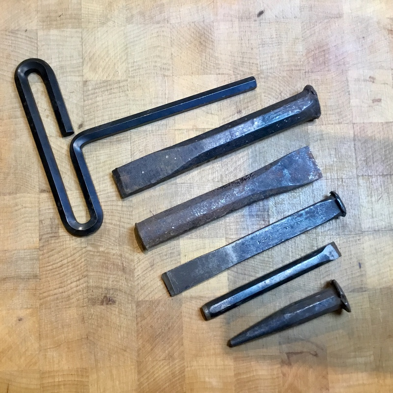 Metalsmithing: Repousse Tools - Repurposing and Alternatives. Punches, chisels, hex and allen wrenches all make great repousse tools.