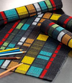 Ramona Abernethy Paine weaving