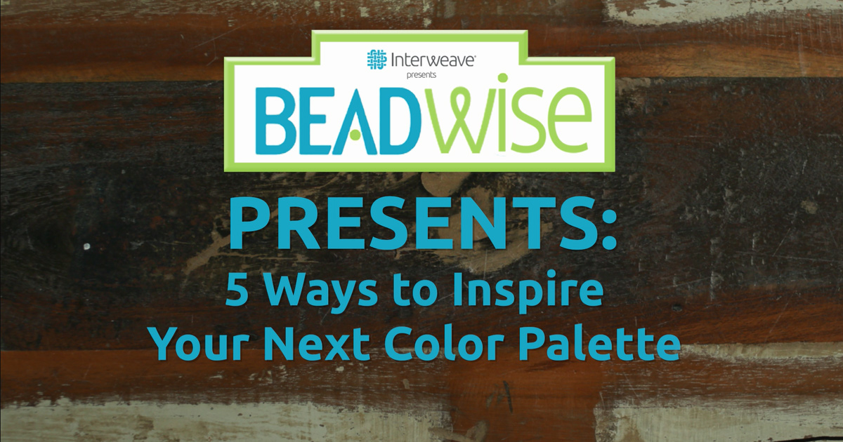 color palette inspiration video