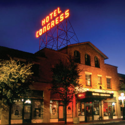 Eating while in Tucson during the Tucson shows - dining and lodging at the Hotel Congress