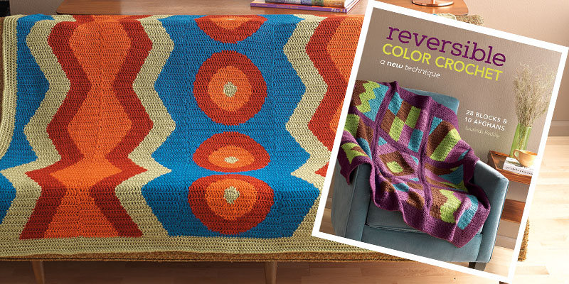 Must-Try Colorful Crochet Afghans from Reversible Color Crochet