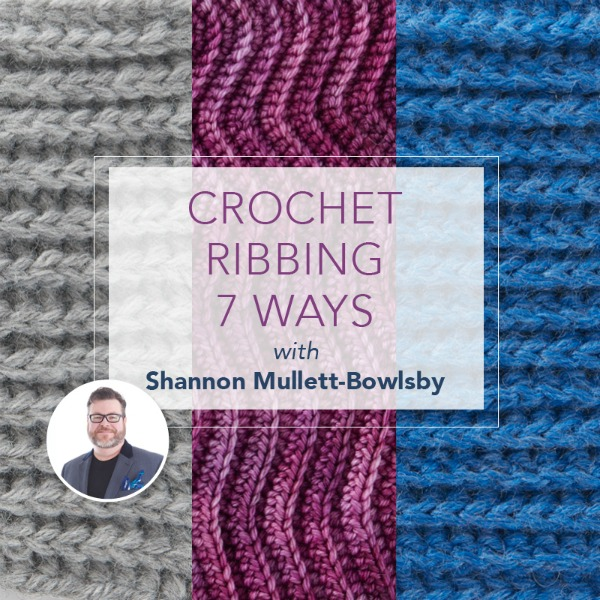 learn crochet ribbing