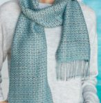 Bead Leno Lace Scarf