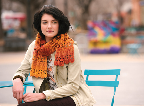Ripple Scarf Crochet Pattern