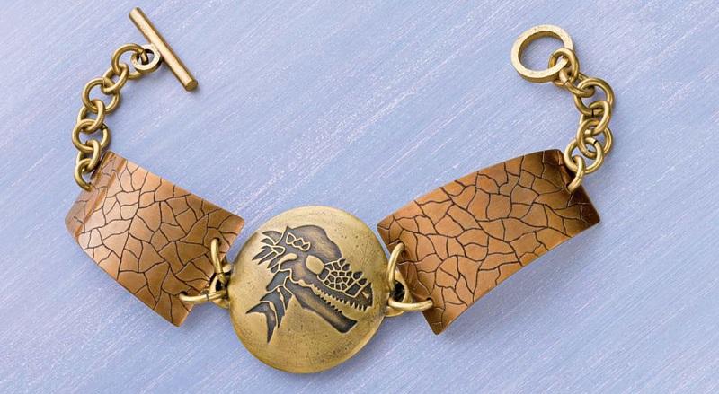 Make an Easy Prehistoric Winner Dinosaur Bracelet