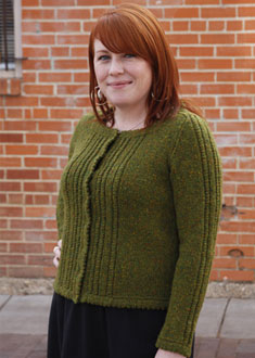 Knitting Gallery - Ropes and Picots Cardigan Meghan