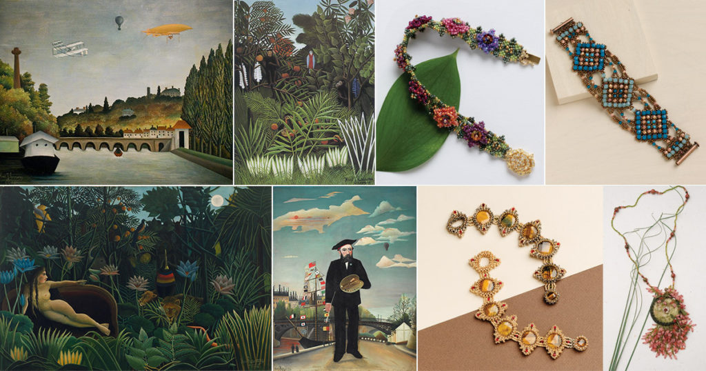 Beading with the Masters Henri Rousseau