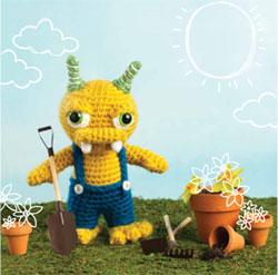 Roy Crocheted Amigurumi
