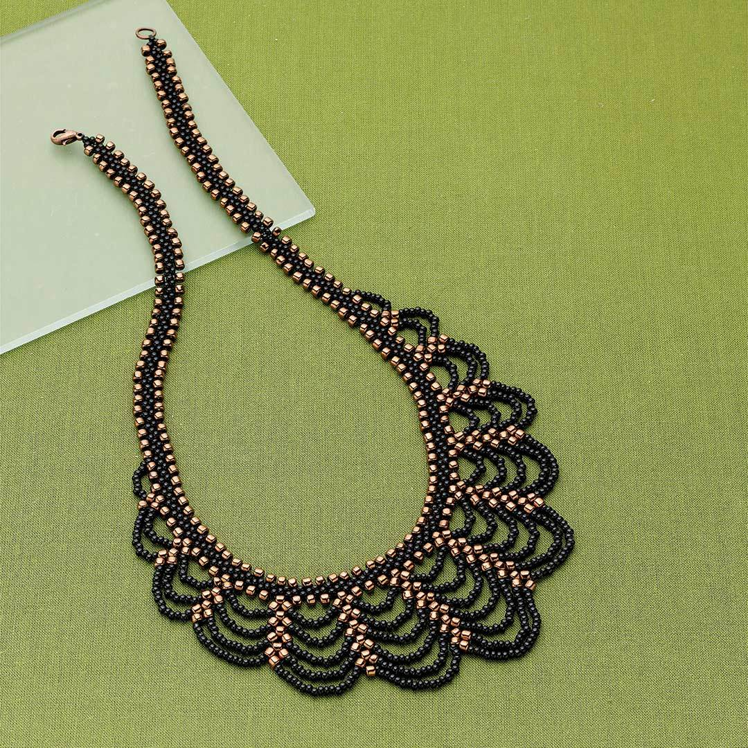 Maria Rypan's Rising Curtains Necklace