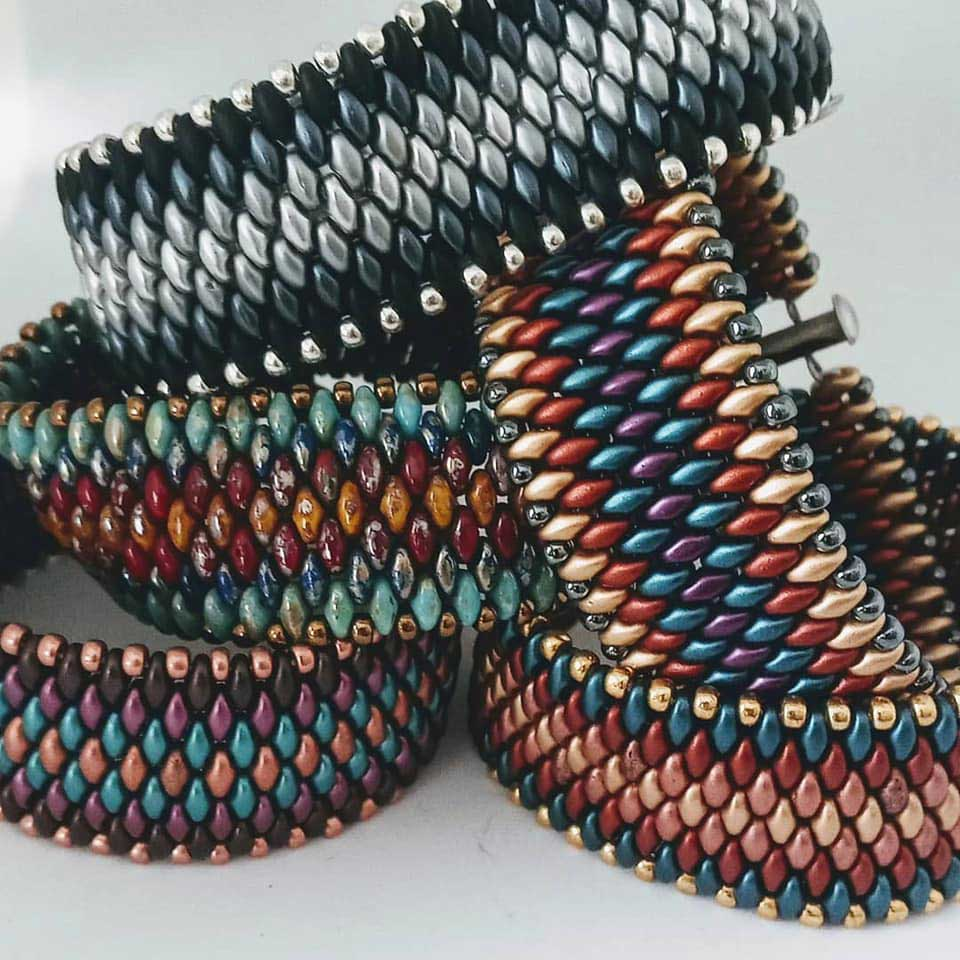 Shanna Steele's Snakeskin Bracelet