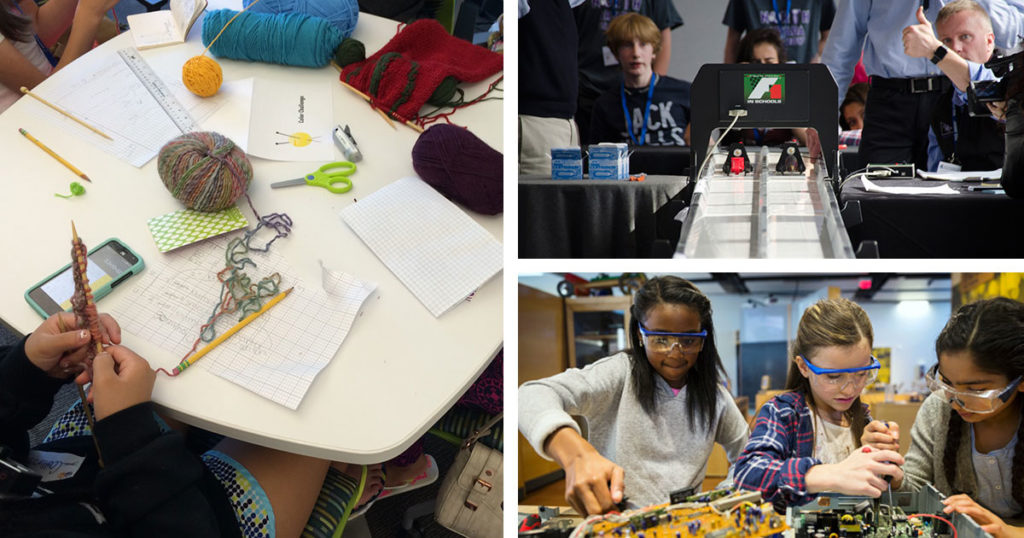 STEM + Knitting: Finding a Place for Craft in the Classroom