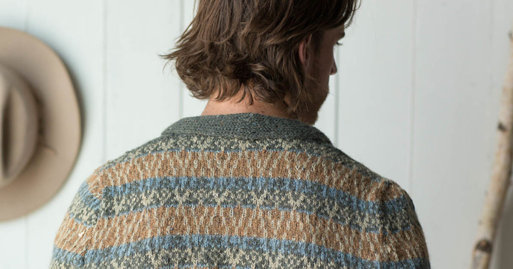 Pattern of the Week: Saddleback Mountain Cardigan