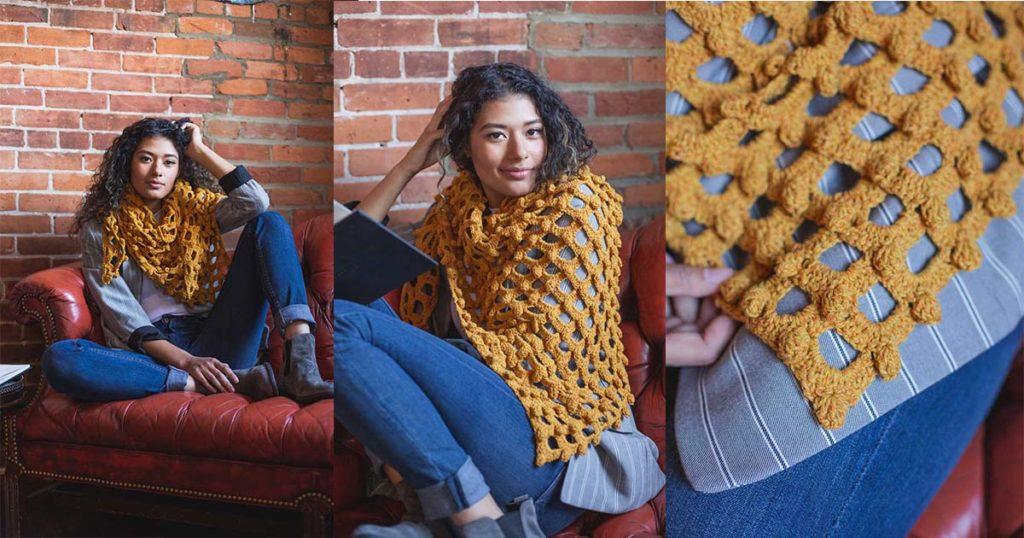 Pattern of the Week: Sandolo Shawl