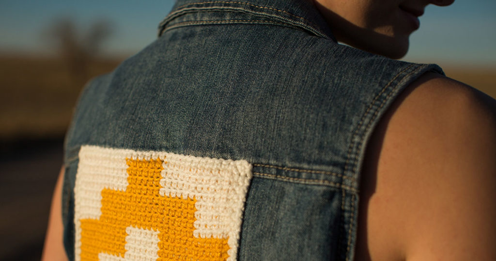 <em>Interweave Crochet</em> Spring 2018: Santa Fe Vest Backing
