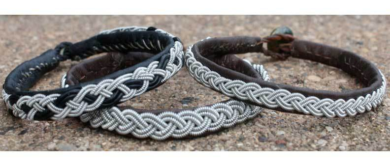 Learn this traditional Lapland braiding technique while making a bracelet that is perfectly suited for anyone, especially someone allergic to metal.
