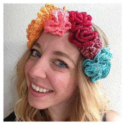 Sara Flower Crown