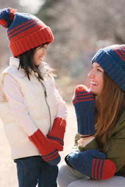 School Colors Hat Crochet Pattern
