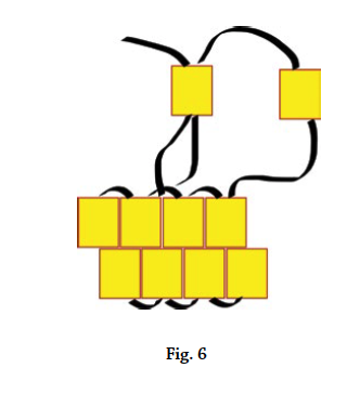 Brick stitch basics, figure 6