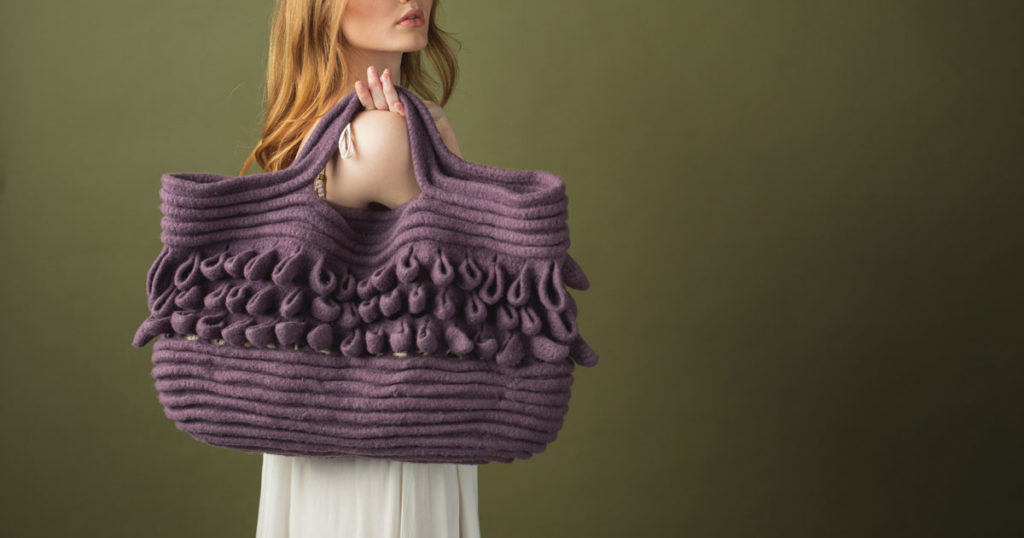 Pattern of the Week: Sea Scale Tote