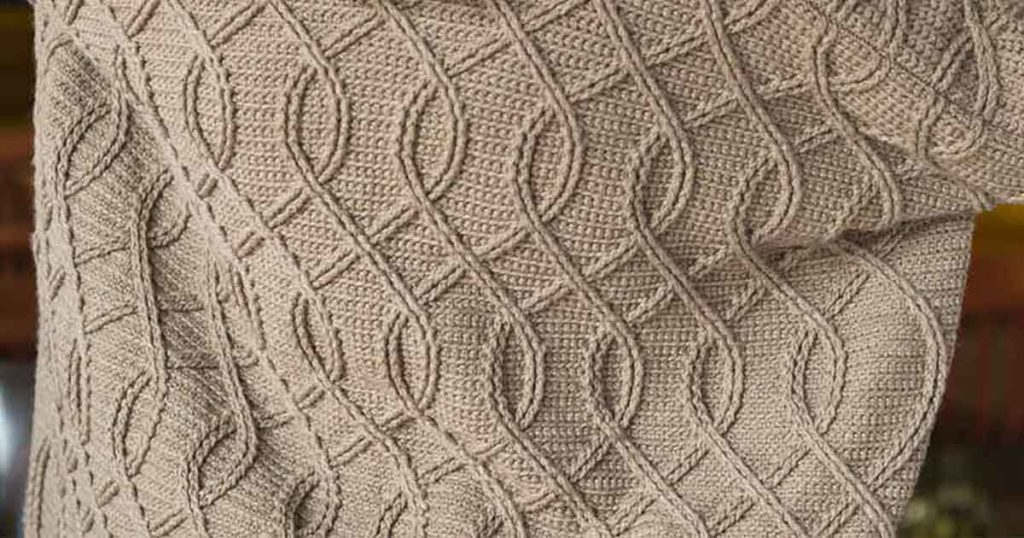 Shadow-Stitch Cables: Your New Crochet Obsession