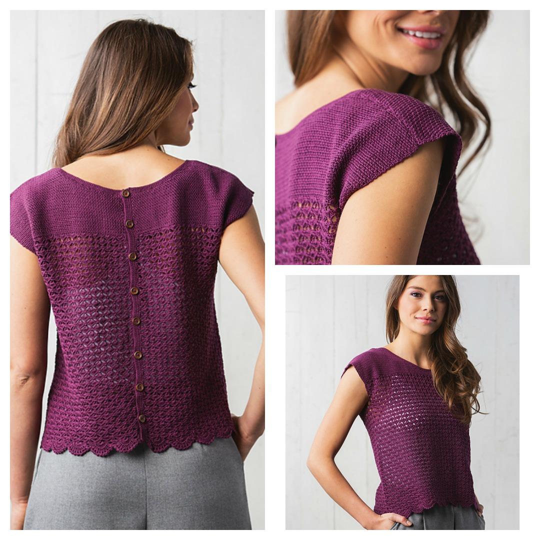 Crochet Button Hole