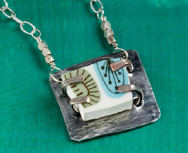 Shattered by Denise Peck: easy metal jewelry making