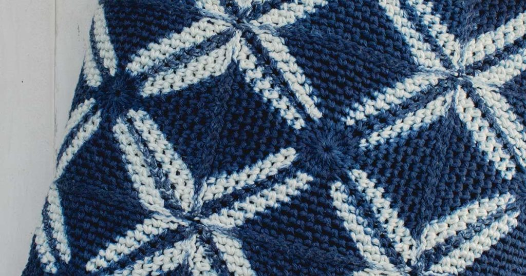 Pattern of the Week: Shibori Pillow