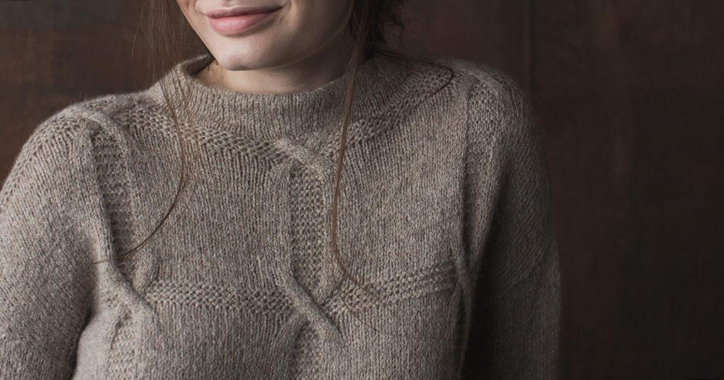 <em>knit.wear</em> Fall/Winter 2018: Shifting Squares Pullover