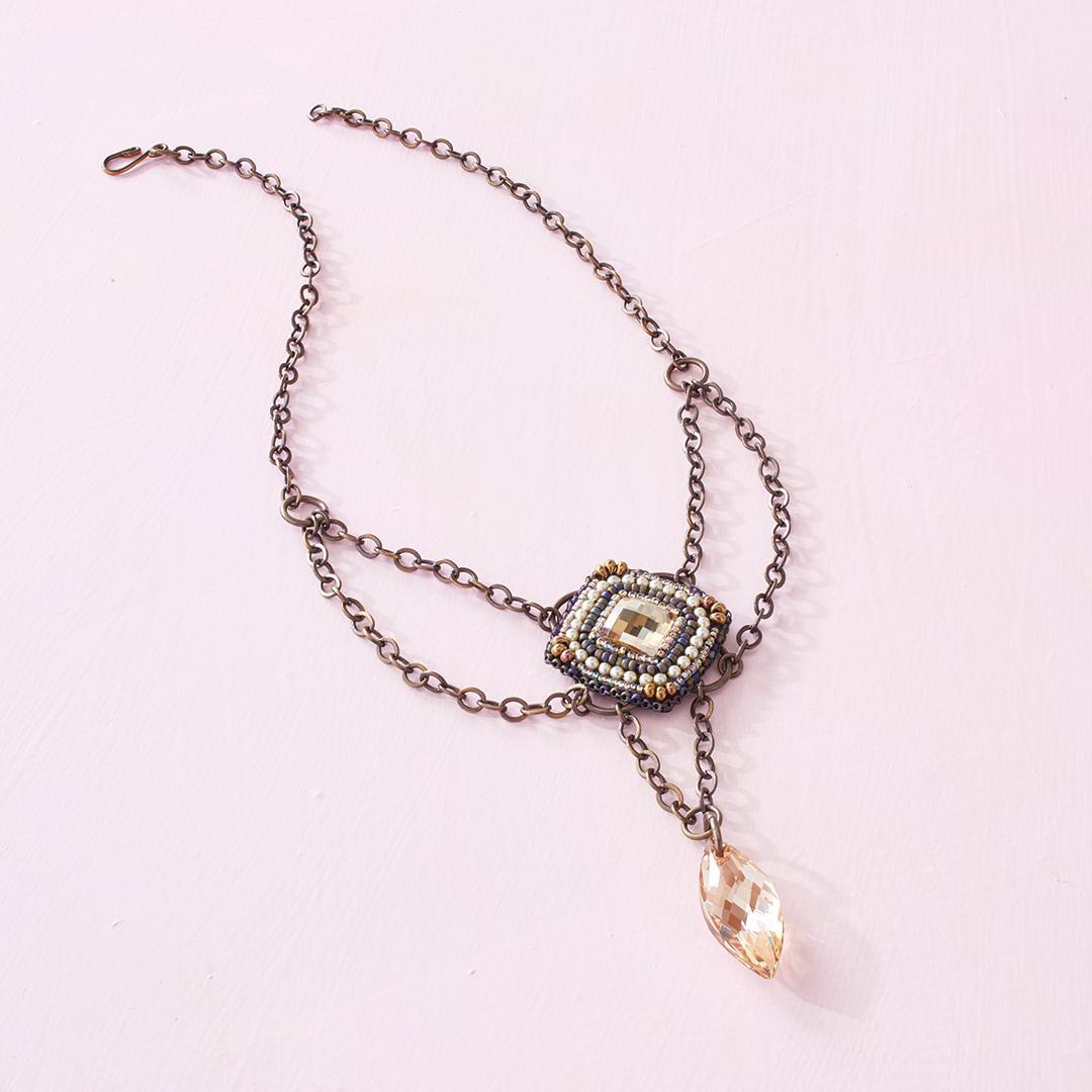 Melissa Grakowsky Shippee's Crystal Pendulum Necklace