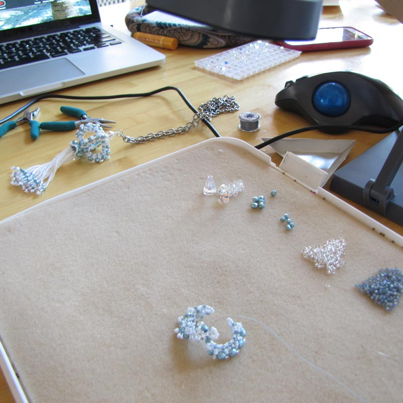 In the Studio with Beadwork Designer of the Year Melissa Grakowsky Shippee