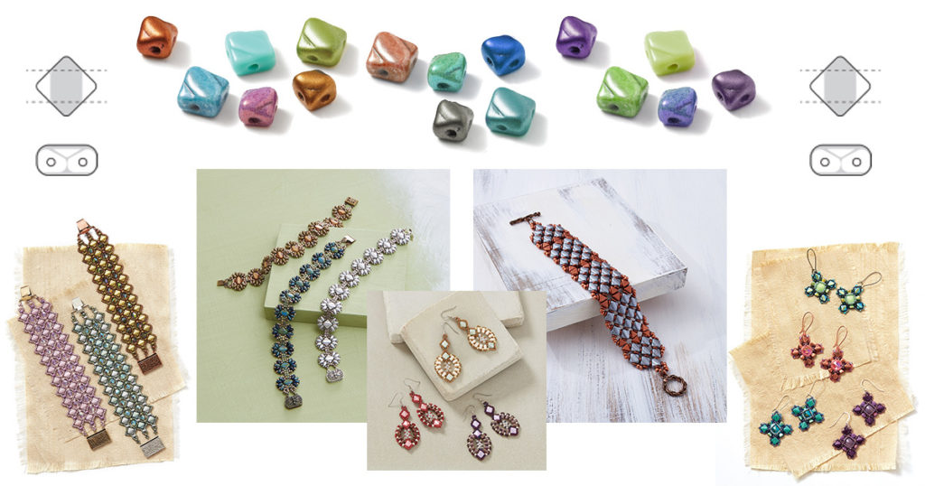 silky sensational shaped beads